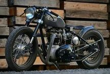 Bobber Motorcycles / Classic hardtail motorcycles gererally of the pre 1960 era built to a minimalist style. Most of these motorcycles are custom rebuilds.