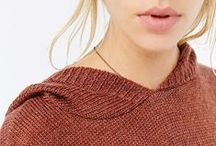 sweater weather / #sweaterweather knitwear for autumn
