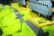 Uniform & Garment Customization / Uniform alterations, embroidered name strips, NEW 8 head embroidery machine, turnout gear repair, Pants cutting in preparation for hemming, shirt decorating with patches, heat press reflective lettering, hat embroidery, high visual apparel embroidery, final letter cutting,...etc.