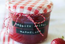 Marmelade / süße Brotaufstriche