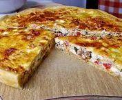 Flammkuchen & Quiche & Pizza & Tarte