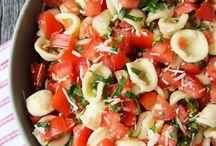 Salat und Dressing