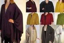 Explore & Buy Wool Ruana Cape Wraps on Pinterest from Yours Elegantly / Pinterest is the perfect way for women to explore and buy wool Ruana Cape Wraps on sale and enjoy long, wide extra coverage and comfort of this fall winter and spring wrap.