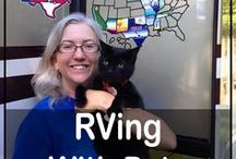 RV Camping with Pets / One of the reasons we love RVing is that our furry family members get to travel with us! This board celebrates cats, dogs and all traveling adventure pets. Here we share tips about how to RV and camp with pets and information on useful pet products. #gorving #pets #campingwithdogs #campingwithcats #rving #rvingwithpets #rvingwithcats #rvingwithdogs #rvlife #cats #dogs #travel #travelwithpets