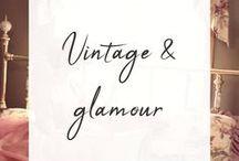 Vintage & glamour / Imágenes del siglo pasado que me gustan y que irradian glamour. Art-decó, art-nouveu, moda vintage, mujeres que destilan elegancia y savoir-faire.