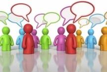 Communicatie & gesprekstechniek / over verbale en non-verbale communicatie, interactie, emoties, ruzies, gesprekstechnieken en over de verschillen tussen mannen en vrouwen.