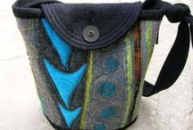 Bags and Brooches/ Jewellery / An eclectic selection of felted and. Crafted bags. Inspiring Jewellery and Brooches.