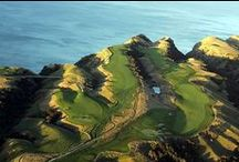 Teeing off / Golf courses around the world