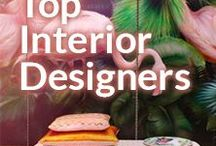 Top Interior Designers / The icons, the inspirations, the bestest