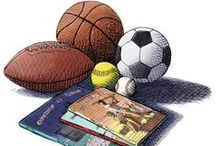 On Your Mark Get Set READ Official CSLP 2016 Summer Reading Program / This is the Children's Sports, Games, Health & Fitness Idea Board for Summer 2016.