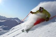 Powder skiing! / the romantic dream of every skier