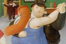 Botero paintings / Fernando Botero.