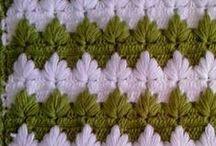 crochet stitch patterns / crocheting