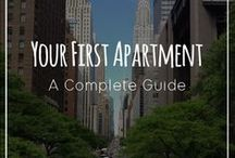 Apartment Decorating & Living / Tips and tricks for decorating your apartment and making the most out of apartment living.