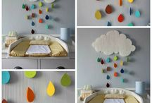 Nursery decor and big girl room