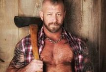 Tribute to Chris Miklos / Chris was very  known in the Gay Bear community, where he was adored for his built physique, groomed and tatted body, sweet smile and kind heart.  more at: http://pinkinourlives.com/2014/07/23/r-i-p-chris-miklos-1974-2014/