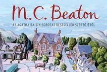 Könyvek - M. C. Beaton series