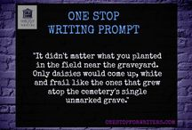 Dark Writing Prompts / Like darker stories? These prompts may inspire a story or two, taking your readers to interesting, shadowy places...great for NaNoWriMo, too.
