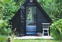 She Shed | Outdoor space | Studio | Outdoor Retreat / Outdoor retreat styled just for you.