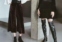 Fall Fashion ✿ Women / Wir zeigen Euch, welche Schuh- und Modetrends im Herbst angesagt sind und wie man die Outfits am besten kombiniert.