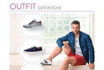 """Outfit of the Week / Hier findet Ihr alle zwei Wochen das neue """"Outfit der Woche"""" aus der Fashion World Redaktion schuhe.de. Alle vorgestellten Stücke könnt Ihr dann im Onlineshop von www.schuhe.de nachshoppen (nur solange der Vorat reicht). Viel Spaß dabei! :)"""