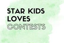 Star Kids Contests / From time to time, we host or participate in a product giveaway - this board is where you will find all the details!