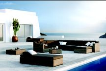 Outdoor Living / Create a relaxing, tranquil outdoor space with pieces from Harbour, Tribu and Manutti.