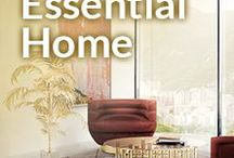 Essential Home / Essential Home is the epitome of bohemian retro design. It's mid century modern lines merge important historical references from the '30s and 60's with contemporary influences. The harmony of masculine and feminine, classic and contemporary, high and low, is integral to the brand's maverick sense of refinement yet iconic style.