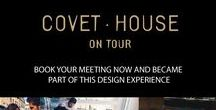 Covet on Tour / Discover the best design experiences around the world with Covet on Tour !