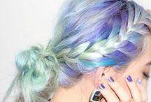 PASTEL HAIR / Enjoy the inspiring pretty pastels!