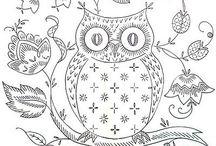 Owls & Birds / by Melissa Mariano
