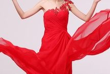 Hot Red / Red the most enthusiastic and youthful  color can bring you passion ,enthusiasm, excitement and expand feelings . Do you like it ?  / by ericdress