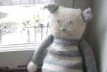 Doudou - pupazzi in maglia - unfilodilana.com / Piccoli animali simpatici realizzati in maglia per neonati e bambini, abitini per bambole e barbie.