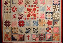 Vintage  quilts / Vintage quilts that provide me with inspiration and motivation. Love old quilts!