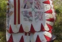 Scrap quilts / You can never have too many fabrics in a quilt.