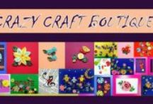 My work - crazycraftboutique.blogspot.ro / hand made decorations: quilling, felting, origami