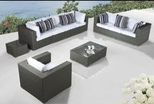 Modern Outdoor Furniture Ideas / Cool outdoor furniture designs, sectional seating, modern outdoor dining, as well as patio design and decor.