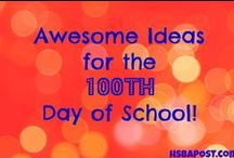 Homeschool Celebrations / Celebrate your homeschool with ideas for first day of school, 100th day, and end of the year parties!