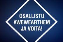 WeWearThem / Inspirational Denim 2014 from Studio25! // Osallistu kilpailuun ja voita 100 € farkkulahjakortti! Osallistu jakamalla farkkukuvasi Twitterissä tai Instagramissa tagilla #wewearthem. Lisätiedot www.wewearthem.fi. Kilpailu voimassa kevään 2014!