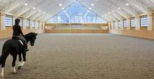 Dream Places & Spaces / Dream worthy barns, indoor arena's, manicured pastures and all things wonderful to a horse person's heart!