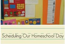 Homeschool Planning / Tips to help schedule and plan your homeschool year