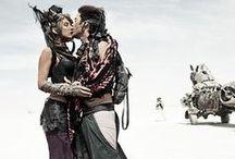 ⚫ Burning Man inspiration ⚫ / Burning Man Festival, Black Rock City, Nevada - inspiration, costume ideas, impressions / by Black Dots White Spots | Susi Maier