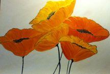 Flowers art / Acrylic