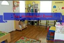 Homeschool Organization / Great room ideas and organizational tips for homeschoolers