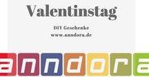 Valentinstag ♥ - DIY Geschenke für die Liebsten / Der Tag der Verliebten rückt immer näher, hier haben wir ein paar DIY Tipps und Anregungen zusamengestellt die Euch inspirieren sollen.