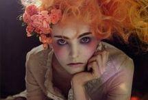 Makeup + Creativity / makeup, artist, abstract, ideas, editorial, edgy, vogue, avant garde, creative, colorful, beauty, global, inspiration, dramatic, art, fantasy, boho, freckles, skin design, photoshoot