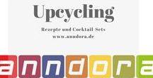 Upcycling - aus Alt mach Trendy / Vermeidet Müll une kreeirt aus scheinbat Nutzlosem etwas Einzigartiges! Hier sind viele Anregungen und Produkte zum Shoppen - alles echte Unikate.