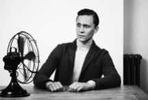 A Hiddles a Day-project / In October '14, a dear friend of mine fell ill. I promised to send her a picture of Tom Hiddleston every day until she got better, to cheer her up. It started as a joke, but by now, I have send her over 600 Hiddlestons (and a Cavill, a Winchester and two Redmayne's, admittedly).  Since the collection became so vast, I've decided to collect them onto a board for other people to use and spread a little happy. (I do not own these pictures and the captions, if present, usually aren't mine.)