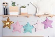 Star Garland / Handmade star garland