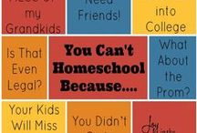 I Can't Homeschool! / Think you can't homeschool? You can! This board looks at all the reasons you THINK you can't homeschool and how to overcome them!